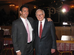 Warren Buffett with Fisher College of Business...