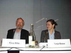 Klaus Milke und Tanja Busse