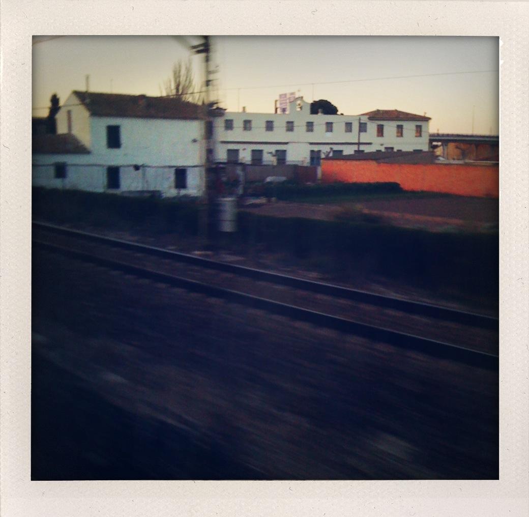 Entrando en Zaragoza