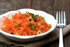 Carrot & Hazelnut Salad 2
