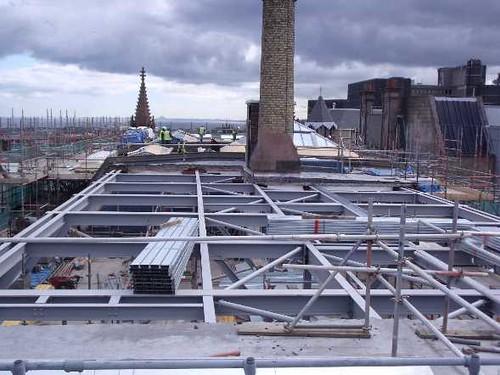 Building Progress: Replacing the Roof