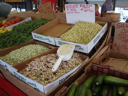 Peas and Beans, Farmer's Market, Birmingham AL