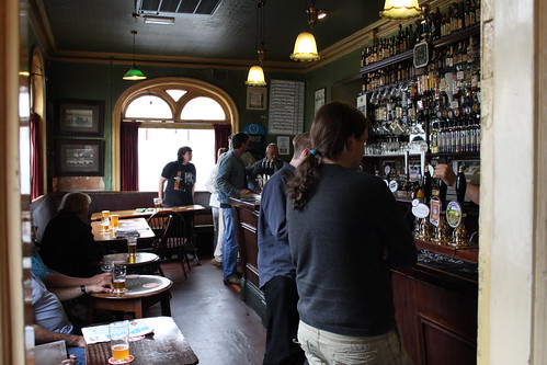 Inside the Wagon and Horses public house Halesowen
