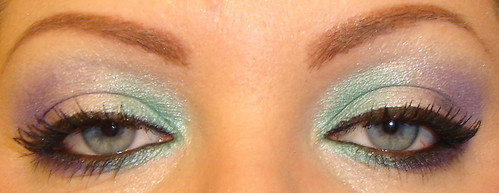 Tri-Color Eyeshadow Look