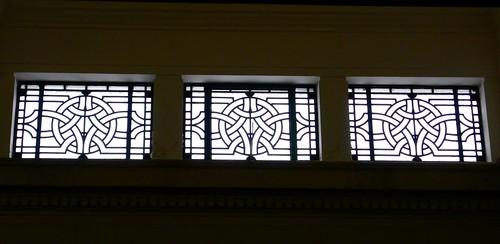 Auckland Museum windows