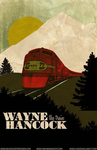Preliminary Wayne Hancock Poster