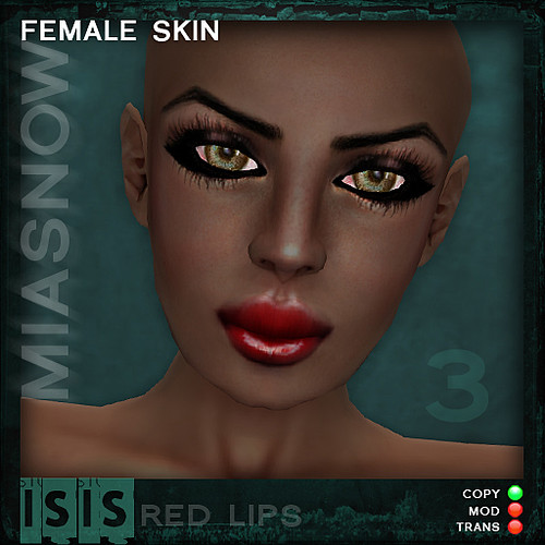 ISIS Dark 3 red lips