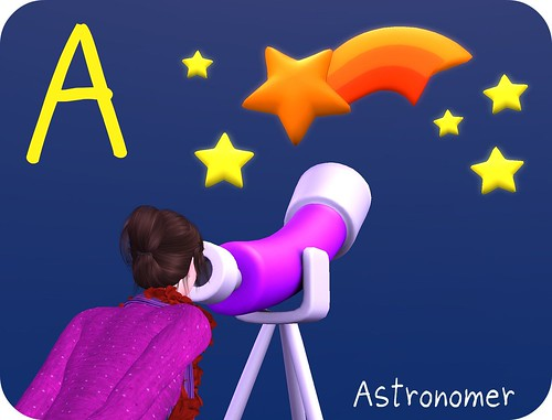 A is for Astronomer