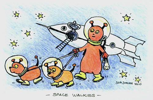 Space Walkies mini