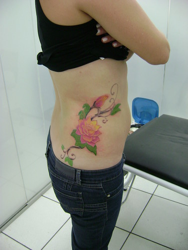 Bird and Roses Tattoo Designs on Women Waist. Email. Written by maki12 on