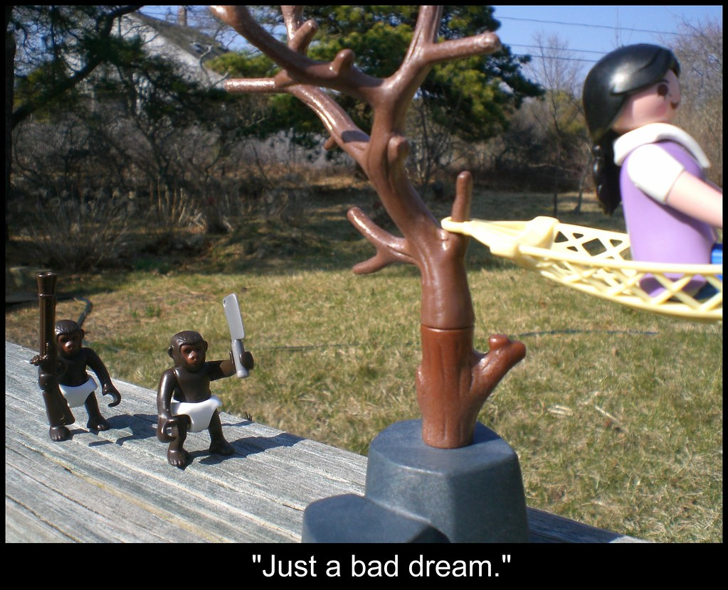 Bad dream, part 2, captioned