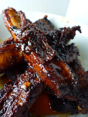 Spicy Korean Pork Spare Ribs (Dwaeji Galbi)