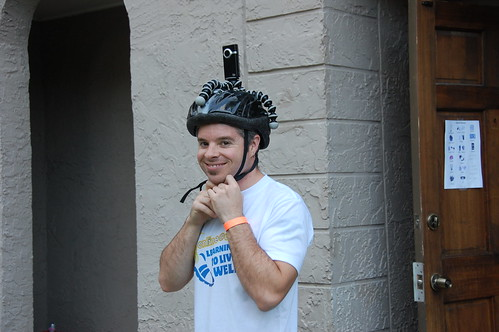 Jason with Helmet Cam