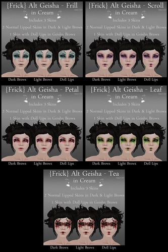 Frick - Alt Geisha - Cream - All