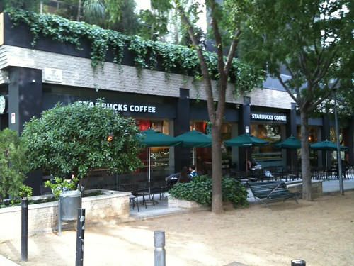 Exterior de Starbucks Diagonal