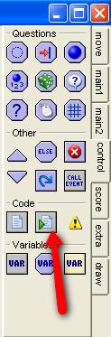 Game Maker Exectute script element