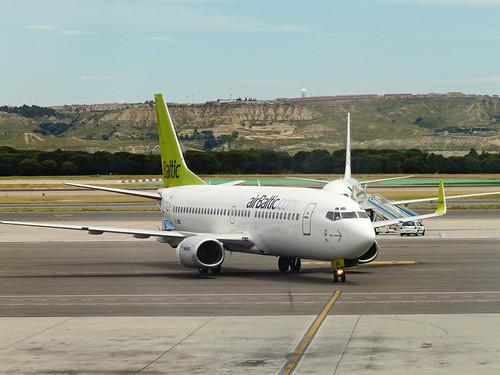 Air Baltic en Barjas