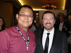 Ricky Gervais & me