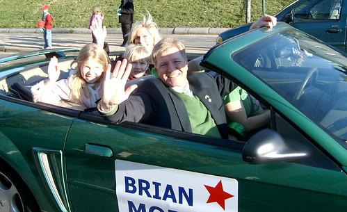 Brian Moran and Family