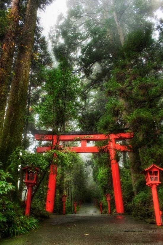 A Rainy Day in Hakone