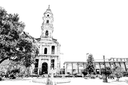Templo San Jose de Gracia,Parque San Felipe, Guadalajara Jalisco Mexico