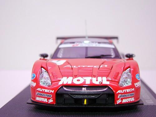 EBBRO MOTUL AUTECH GT-R SUPER GT 2009 OKAYAMA TEST (4)