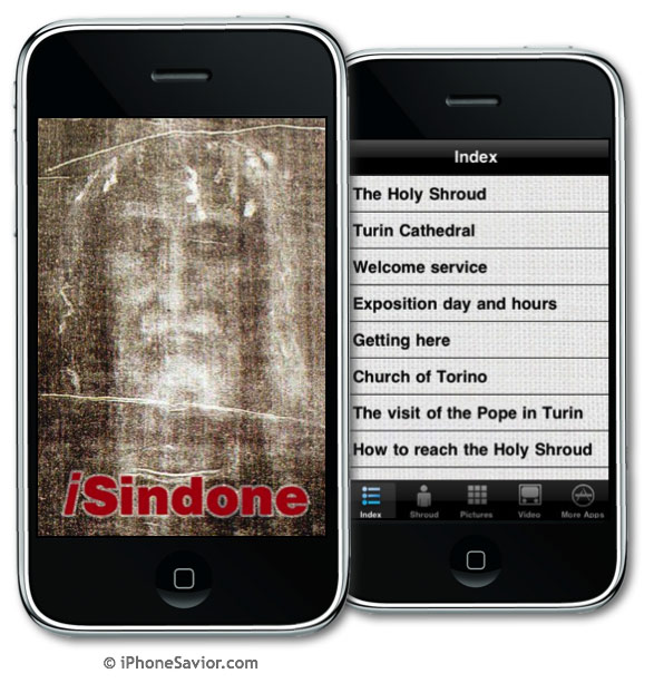 Holy Shroud of Turin iPhone App