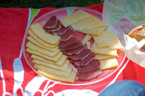 Croatian Cheese and Meat Platter