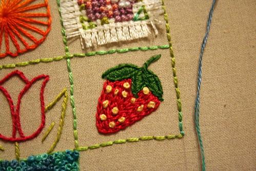 39 Squares: Strawberry