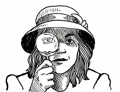 Illustration Friday: Detective