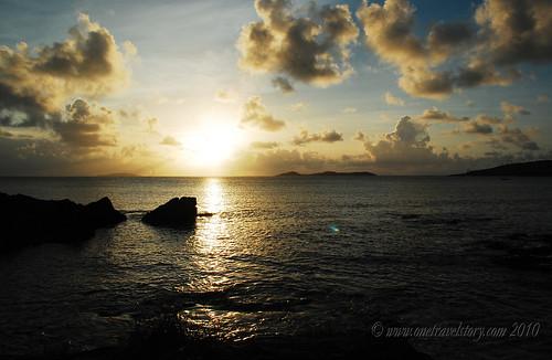 Sunset, Calaguas Island, Camarines Norte