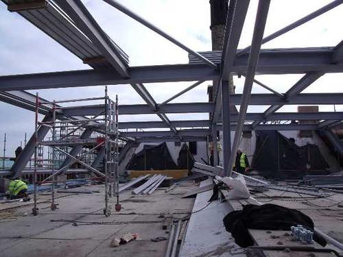 Building Progress: Rebuilding a New Roof