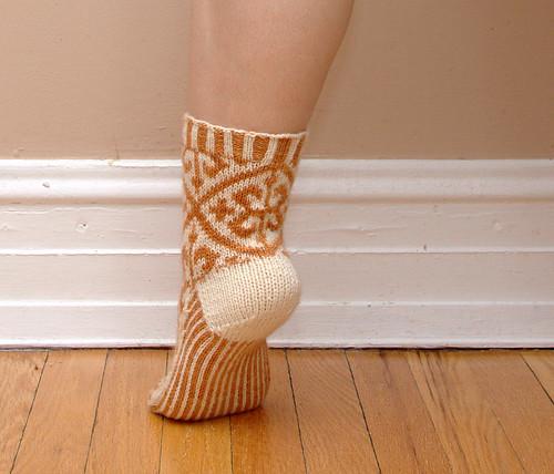 Brocade Socks