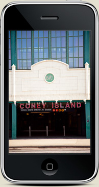 the estate of things chooses coney island sign