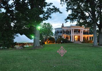 Rockwood Manor Tent Wedding Reception