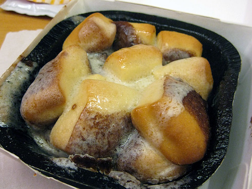 Cinnamon Melts @ McD