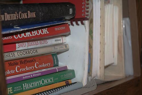 Well-Used Cookbooks