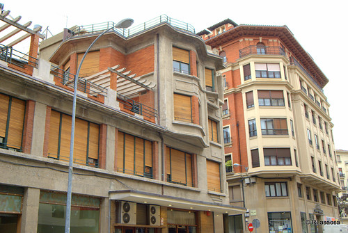 Edificios de viviendas en la calle García Castañón