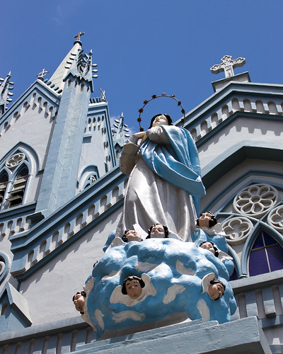 Outside Immaculate Conception Cathedral - Palawan - 5