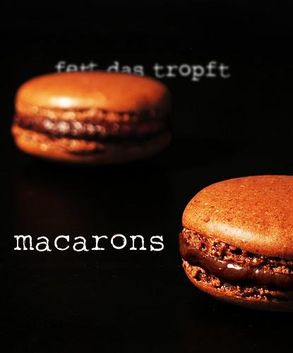 Macarons Fett