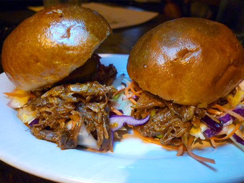 Pulled Pork Sliders @ Akasha