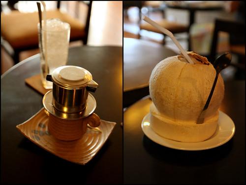 Cafe Sua Da va Dua Tuoi