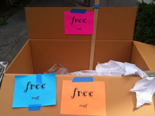 Free box of nothing