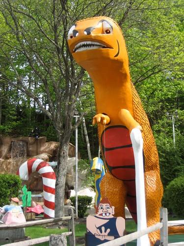 Giant Orange Dinosaur - Saugus Relative?