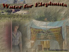 Wallpaper [1024 x 768]:  Robert Pattinson - Water for Elephants:  The Big Top