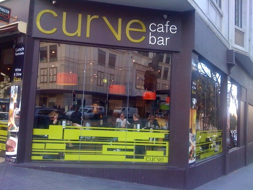 Curve cafe bar, Sydney CBD