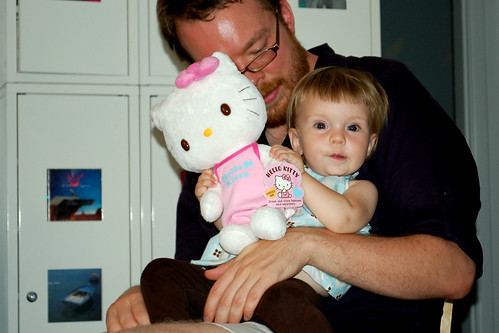Hello Kitty was the most exciting present of all.