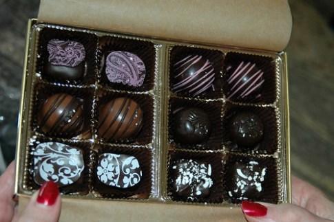 Blackberry Creek chocolates