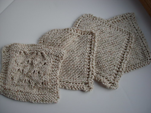 Dishcloths done 2010