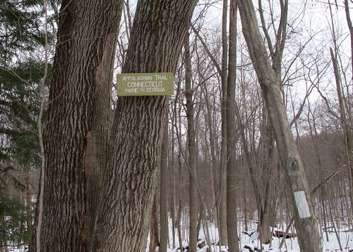 The start of the Appalachian Trail in Connecticut